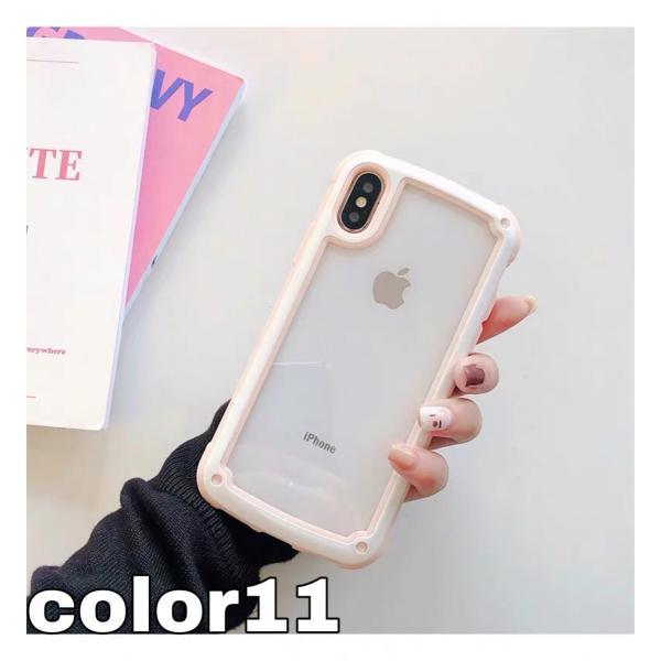 iphoneXRケース iPhone Xs Max  iPhone8ケース クリア おしゃれ アイフォン8 ケース iPhone7 耐衝撃  ケース 透明 スマホ携帯ケース スマホカバー   軽量|francekids|10