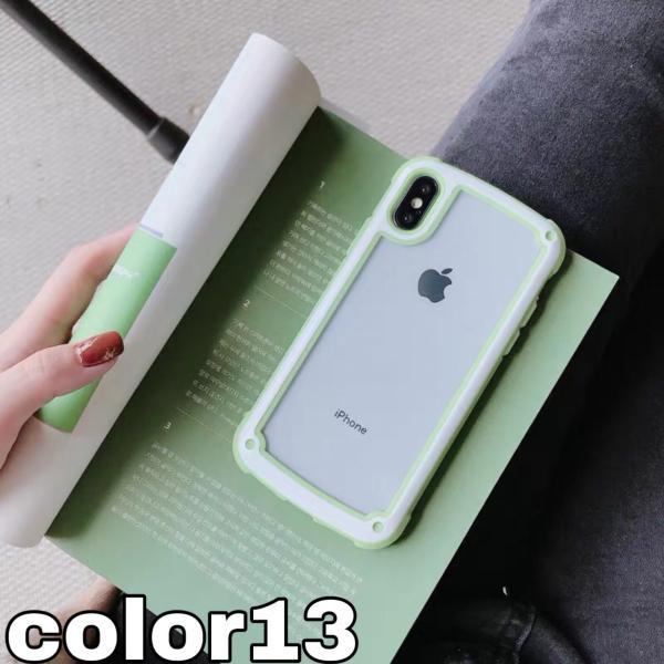 iphoneXRケース iPhone Xs Max  iPhone8ケース クリア おしゃれ アイフォン8 ケース iPhone7 耐衝撃  ケース 透明 スマホ携帯ケース スマホカバー   軽量|francekids|12