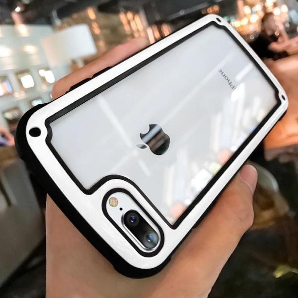 iphoneXRケース iPhone Xs Max  iPhone8ケース クリア おしゃれ アイフォン8 ケース iPhone7 耐衝撃  ケース 透明 スマホ携帯ケース スマホカバー   軽量|francekids|16