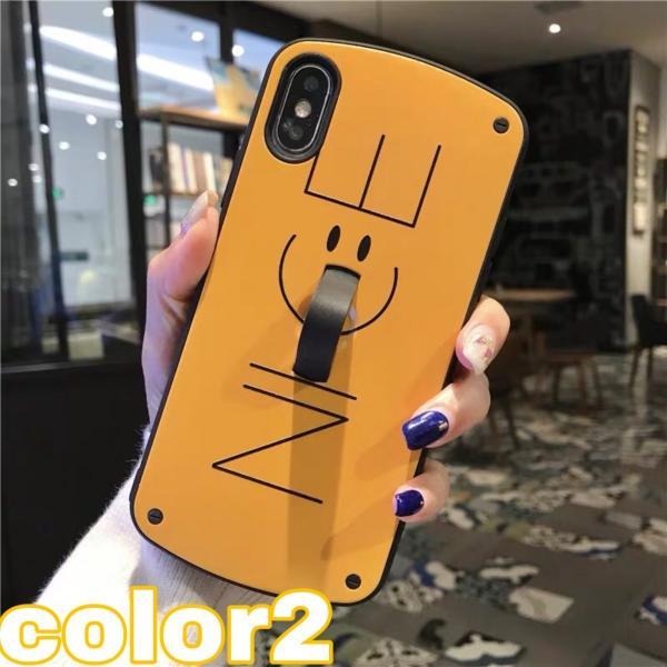 iPhone XR ケース iPhone Xs Max iPhone8ケース ベルト おしゃれ アイフォン8 ケース iPhone7 耐衝撃 ケース スマイル スマホ携帯ケース スマホカバー 人気|francekids|03