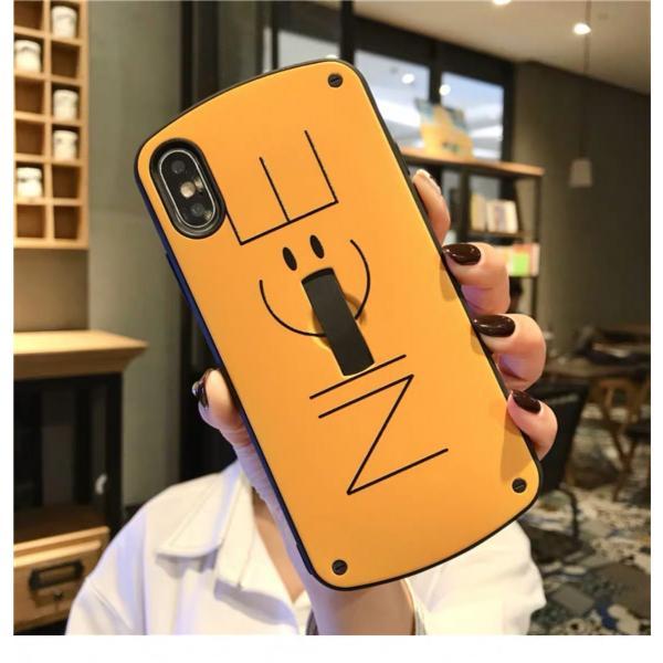 iPhone XR ケース iPhone Xs Max iPhone8ケース ベルト おしゃれ アイフォン8 ケース iPhone7 耐衝撃 ケース スマイル スマホ携帯ケース スマホカバー 人気|francekids|10