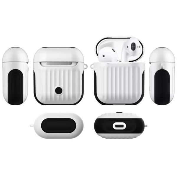 AirPods カバー プラスチック シンプル イヤホンケース エアーポッズケース お洒落 可愛い ケース 衝撃 保護 収納|francekids|07