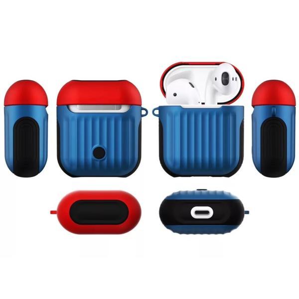 AirPods カバー プラスチック シンプル イヤホンケース エアーポッズケース お洒落 可愛い ケース 衝撃 保護 収納|francekids|08