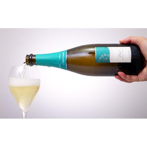 イタリア最高級スパークリングワイン フランチャコルタ ブリュット / ラ・トッレ 750ml|franciacorta