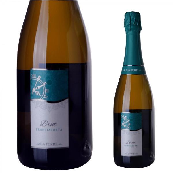 イタリア最高級スパークリングワイン フランチャコルタ ブリュット / ラ・トッレ 750ml|franciacorta|02