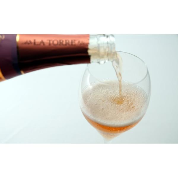 女性へのプレゼントに最適 イタリア最高級スパークリングワイン フランチャコルタ ロゼ / ラ・トッレ 750ml|franciacorta