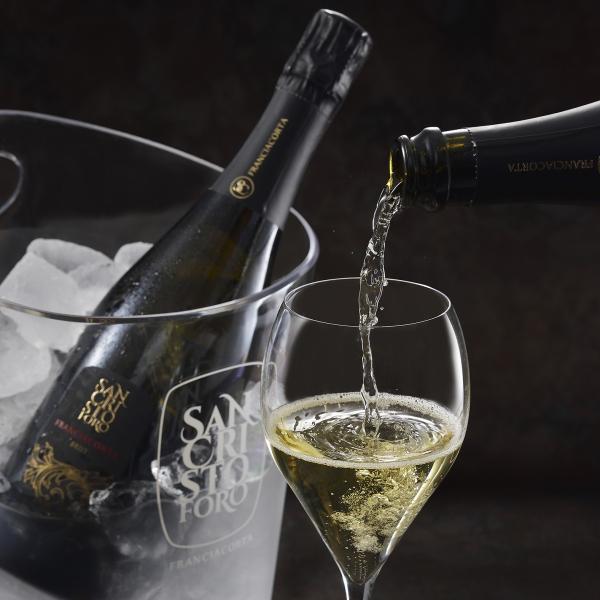 フランチャコルタ ブリュット / サンクリストーフォロ(イタリア・スパークリングワイン) 750ml|franciacorta