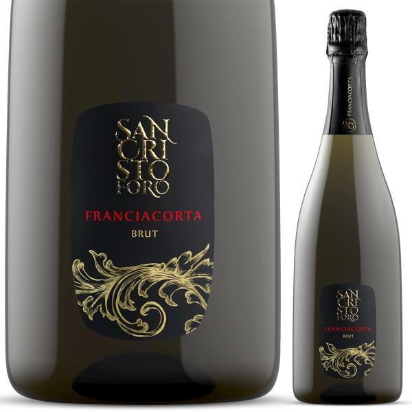 イタリア最高級スパークリングワイン フランチャコルタ ブリュット マグナム / サンクリストーフォロ 1500ml 辛口 自然派ワイン 限定本数入荷の希少品 franciacorta 03