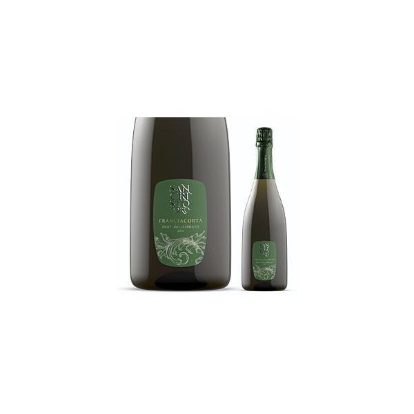 男性プレゼントに最適 イタリア最高級スパークリングワイン フランチャコルタ ミッレジマート 2013 / サンクリストーフォロ 750ml|franciacorta
