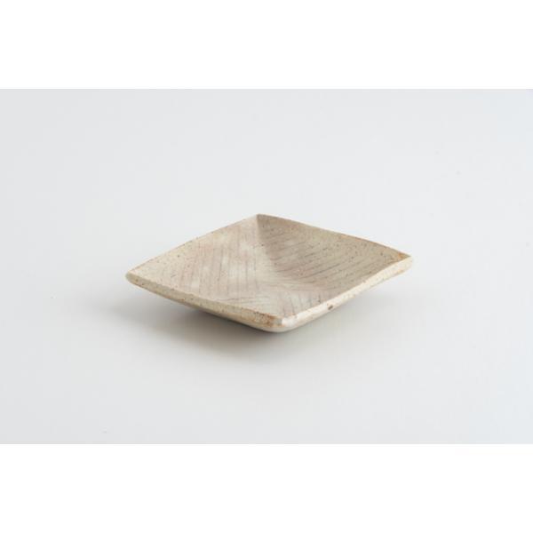 牧谷窯杉本義訓練り込み角鉢小25陶器作家物うつわ器食器