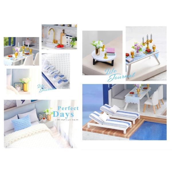 ドールハウス 手作りキットセットミニチュア Time Apartment t-FREAK|freak-dollhouse|06