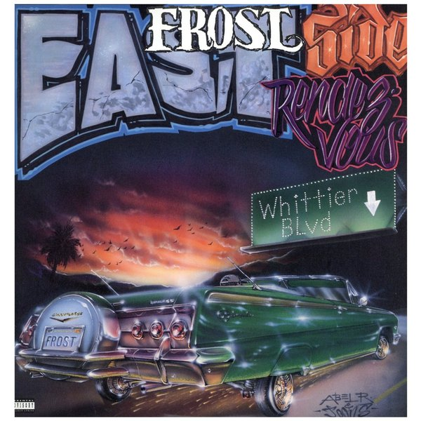 "FROST feat A.L.T., O.G. Enus - EAST SIDE RENDEZVOUS / LOOK AT WHAT I SEE 12""  US  1995年リリース"