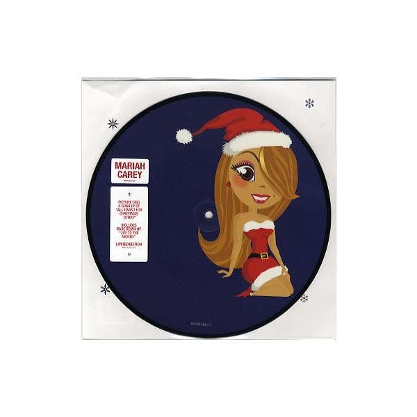 MARIAH CAREY - All I Want For Christmas Is You / Joy To The World (10