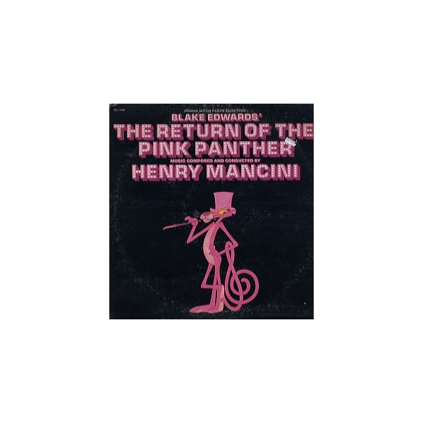 RoomClip商品情報 - Original Soundtrack - THE RETURN OF THE PINK PANTHER LP US 1975年リリース