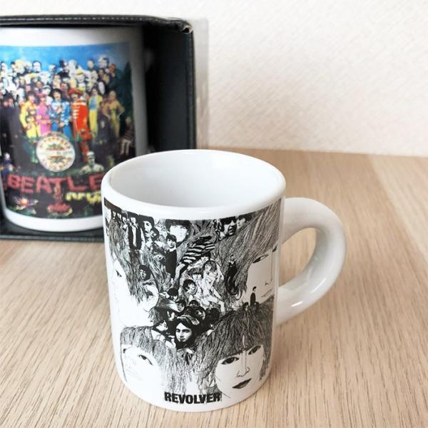 THE BEATLES ビートルズ エスプレッソカップ リボルバー revolver 60年代 ロック マグ コーヒーカップ エスプレッソ 送料無料