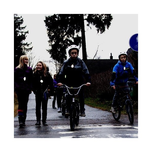 Glimmis グリミス 反射板 リフレクター キーホルダー ブロキガ 北欧の交通安全 リトルピンク|free-style|04
