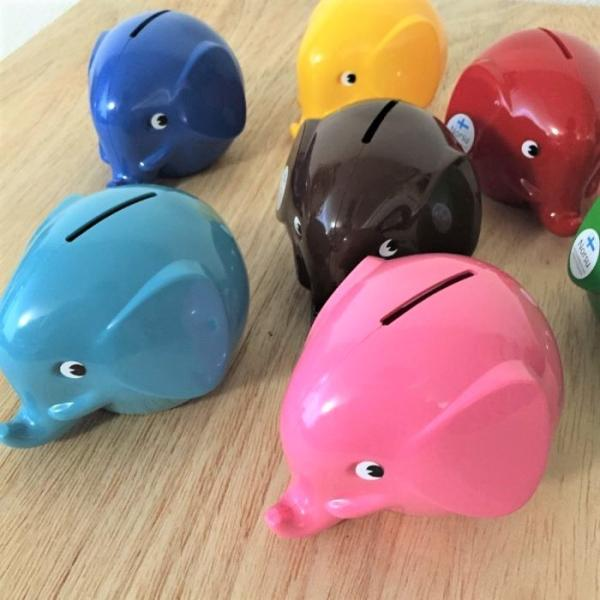 送料無料【Norsu】北欧雑貨 フィンランドの貯金箱 エレファントバンク 可愛い象の貯金箱 カラフル 8色 Sサイズ|free-style|02