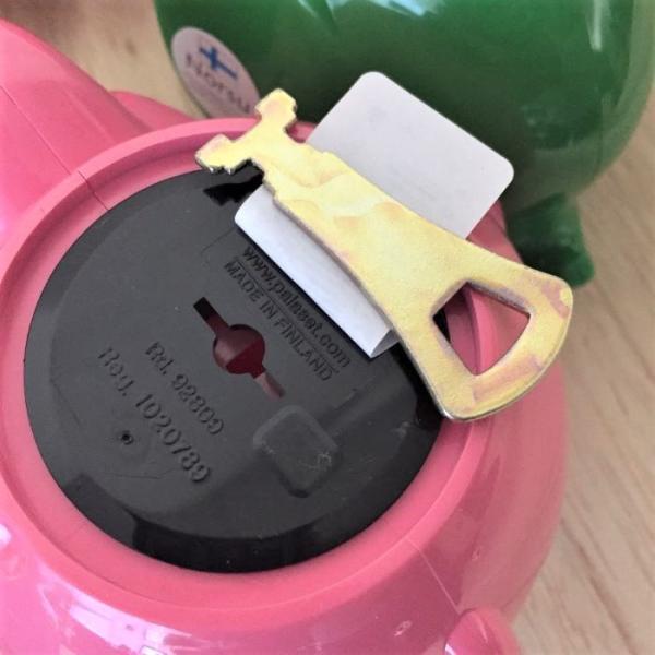 送料無料【Norsu】北欧雑貨 フィンランドの貯金箱 エレファントバンク 可愛い象の貯金箱 カラフル 8色 Sサイズ|free-style|06