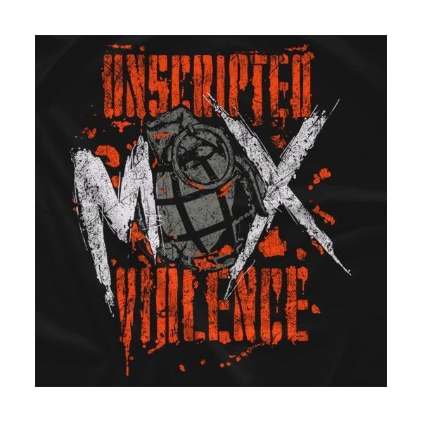 AEW(オール・エリート・レスリング) Tシャツ「All Elite Wrestling ジョン・モクスリー JON MOXLEY Unscripted Violence Tシャツ」|freebirds|02