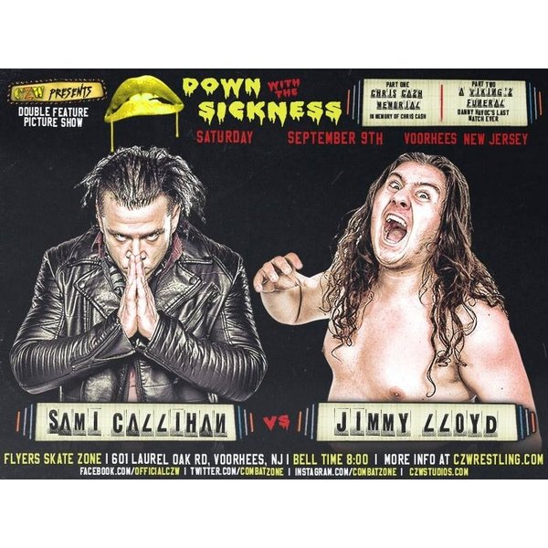 CZW DVD「Down With The Sicknes...