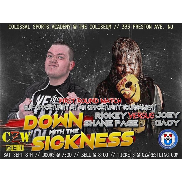 CZW DVD「Down With The Sickness 2018」(2018年9月8日