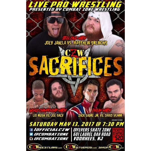 CZW DVD「Sacrifices」(2017年5...