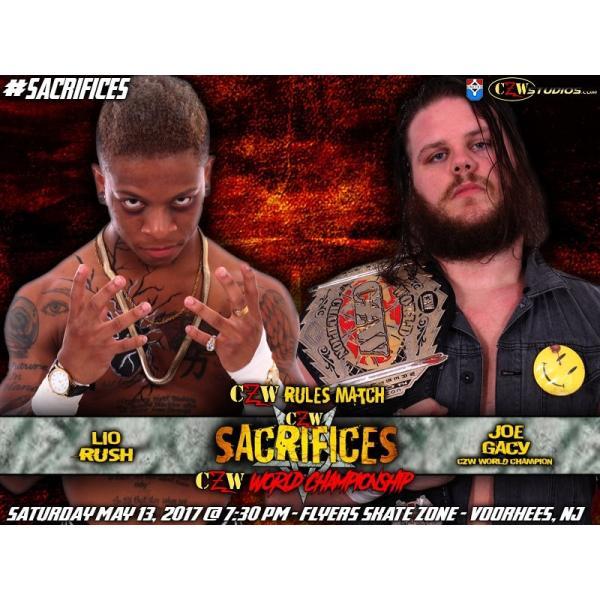CZW DVD「Sacrifices」(2017年5...