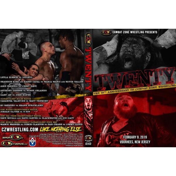 CZW DVD「Twenty 〜20周年記念大会」(2019年2月9日ニュージャージー州ヴアヒーズ)