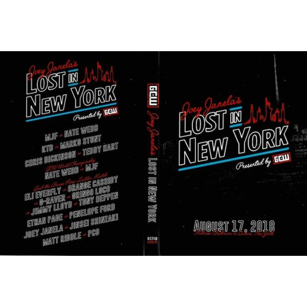 GCW DVD「Joey Janela's Lost In New York」(2018年8月17日ニューヨーク州クイーンズ)【マット・リドル 対 PCO】|freebirds