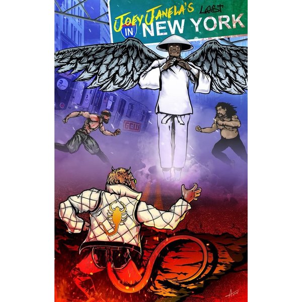 GCW DVD「Joey Janela's Lost In New York」(2018年8月17日ニューヨーク州クイーンズ)【マット・リドル 対 PCO】 freebirds 13