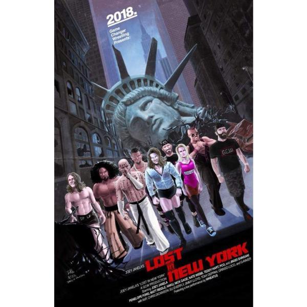 GCW DVD「Joey Janela's Lost In New York」(2018年8月17日ニューヨーク州クイーンズ)【マット・リドル 対 PCO】 freebirds 16