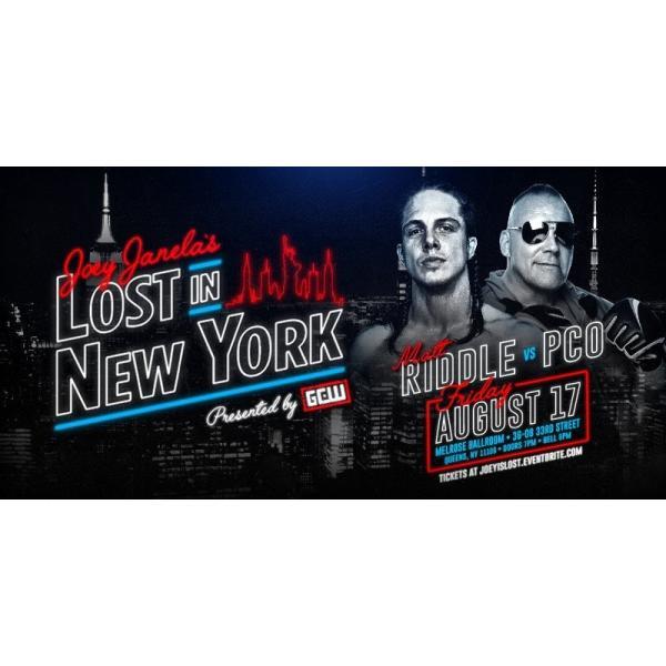 GCW DVD「Joey Janela's Lost In New York」(2018年8月17日ニューヨーク州クイーンズ)【マット・リドル 対 PCO】 freebirds 03