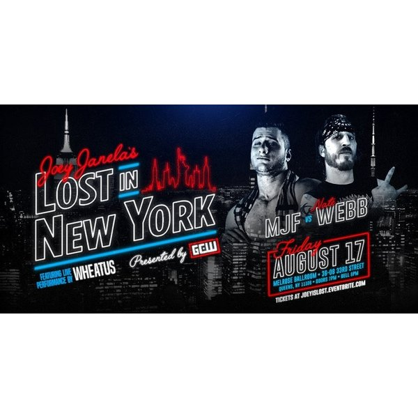 GCW DVD「Joey Janela's Lost In New York」(2018年8月17日ニューヨーク州クイーンズ)【マット・リドル 対 PCO】 freebirds 05