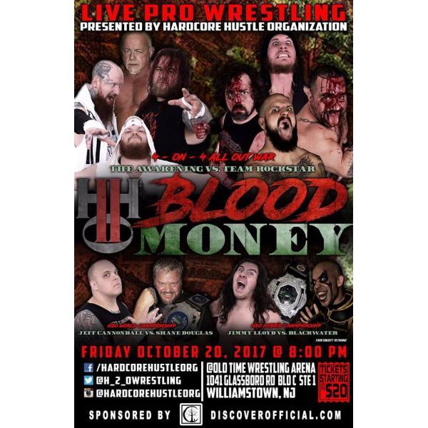 H20 Wrestling DVD「Blood Money」(2017年10月20日ニュージャージー州ウィリアムズタウン)|freebirds|02