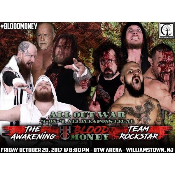 H20 Wrestling DVD「Blood Money」(2017年10月20日ニュージャージー州ウィリアムズタウン)|freebirds|03
