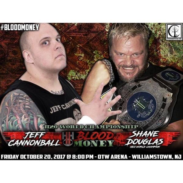 H20 Wrestling DVD「Blood Money」(2017年10月20日ニュージャージー州ウィリアムズタウン)|freebirds|04