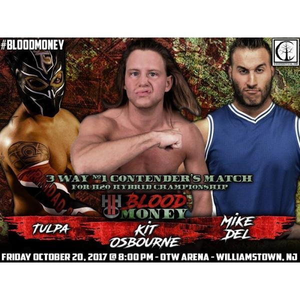 H20 Wrestling DVD「Blood Money」(2017年10月20日ニュージャージー州ウィリアムズタウン)|freebirds|09