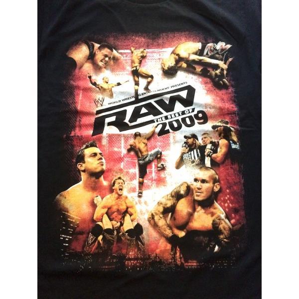 WWE アメリカンプロレスTシャツ「WWEロウ ザ・ベスト・オブ2009 Tシャツ」アメリカ直輸入 現品限り(Smallサイズ)|freebirds