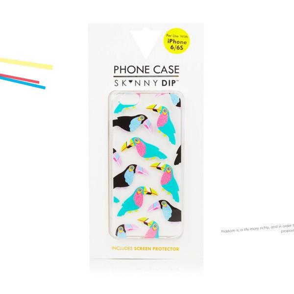 iPhone  iPhone6/6s スキニーディップ  SKINNYDIP Toucan カラフル オウム ケース カバー  シリコン アイフォーン メール便 送料無料 freekstore 06