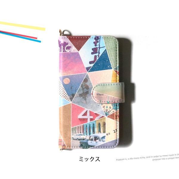 iPhone アイフォン iPhone6 6s 7 手帳型 ケース スマホ 携帯 ケース カバー アコモデ トリップコラージュ 人気 新作 メール便送料無料|freekstore|05