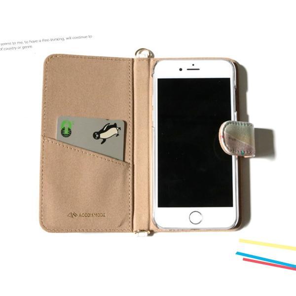 iPhone アイフォン iPhone6 6s 7 手帳型 ケース スマホ 携帯 ケース カバー アコモデ トリップコラージュ 人気 新作 メール便送料無料|freekstore|06