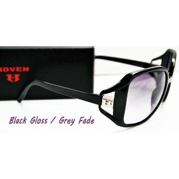 HOVEN ホーベン サングラス GLAM  22-200 ブラックグロスフレーム フェードレンズ あすつく対応|freeline|02