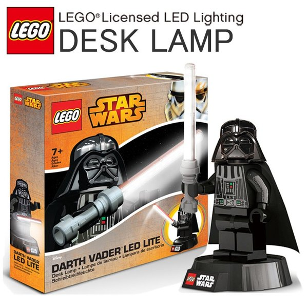 LEGO レゴ ダース・ベイダー LED デスクランプ スターウォーズ STARWARS LEDライト ダースベーダー あすつく対応|freeline