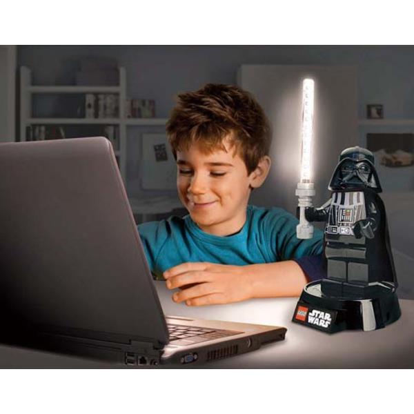 LEGO レゴ ダース・ベイダー LED デスクランプ スターウォーズ STARWARS LEDライト ダースベーダー あすつく対応|freeline|02