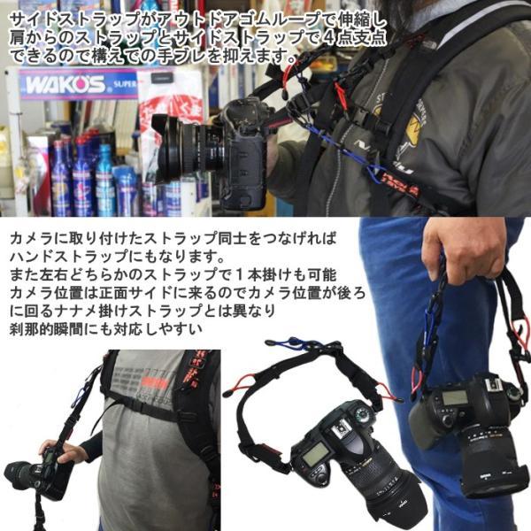 KEMEKO ケメコ 一眼レフカメラ用バッグストラップ ネックハンドルキット バックパック・リュック取り付け型カメラストラップ あすつく対応|freeline|04