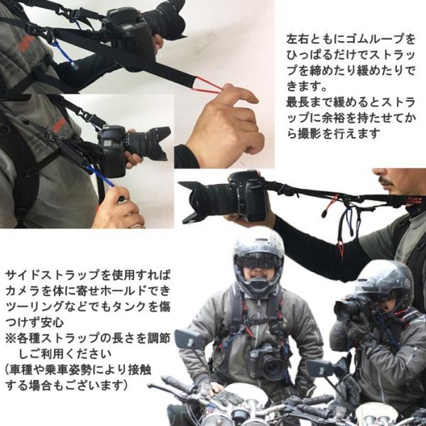 KEMEKO ケメコ 一眼レフカメラ用バッグストラップ ネックハンドルキット バックパック・リュック取り付け型カメラストラップ あすつく対応|freeline|05