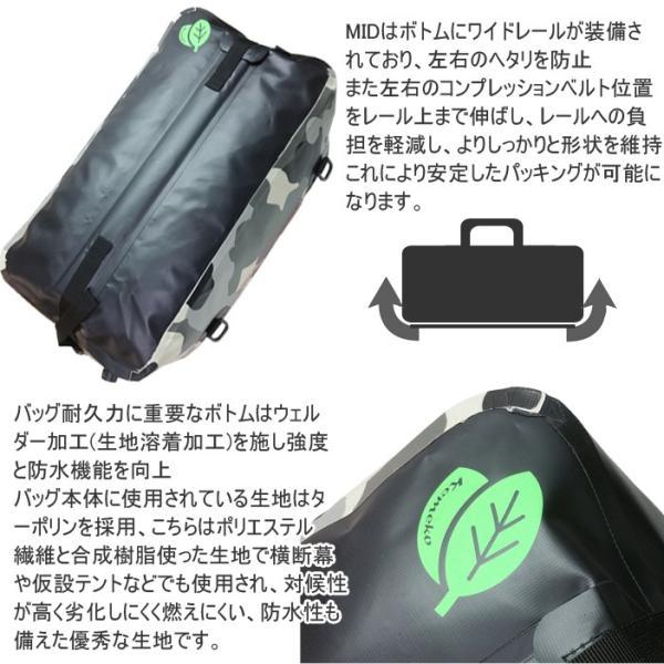 送料無料 KEMEKO ケメコ ドライエックス MID ミッド 50L DRY-X  防水ツーリングバッグ ドライバッグ あすつく対応|freeline|03