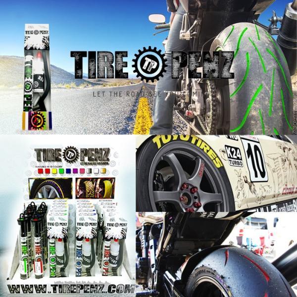 メール便送料無料  TIREPENZ タイヤペンズ PEN KIT ペンキット タイヤ専用ペイントマーカー タイヤペン  KEMEKO|freeline|02
