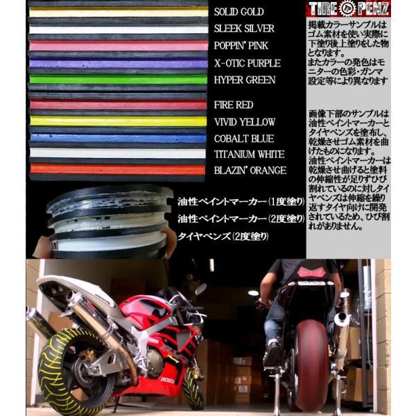 メール便送料無料  TIREPENZ タイヤペンズ PEN KIT ペンキット タイヤ専用ペイントマーカー タイヤペン  KEMEKO|freeline|04