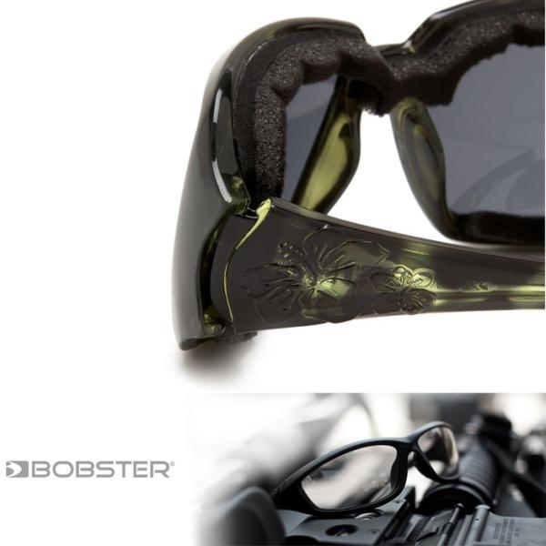 RIDEZ ライズ BOBSTER ボブスター スカーレット ESCA003 グリーン バイク用サングラス 曇り止めスモークレンズ 女性向けアイウェア あすつく対応|freeline|03